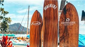 Surfboards Outrigger Waikiki Beach Resort, Honolulu
