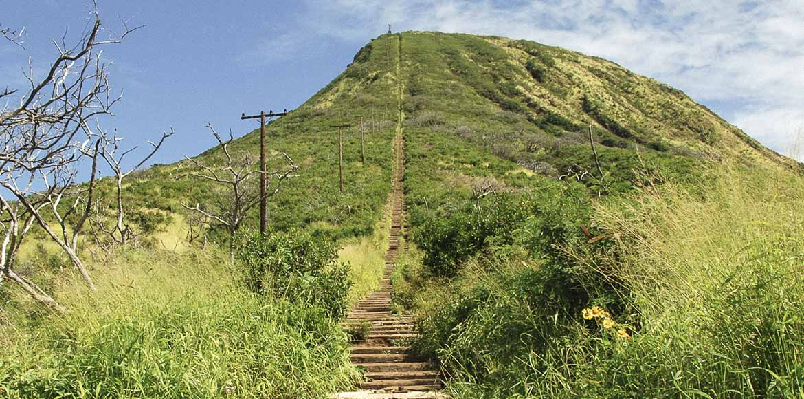 Koko Crater Railway Trail, Honolulu