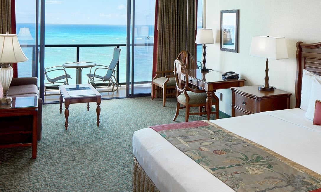 Rooms and Suites at Outrigger Waikiki Beach Resort, Honolulu