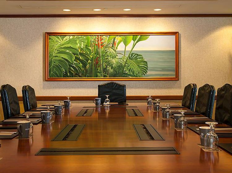 Outrigger Waikiki Beach Resort, Honolulu Na Koa Boardroom