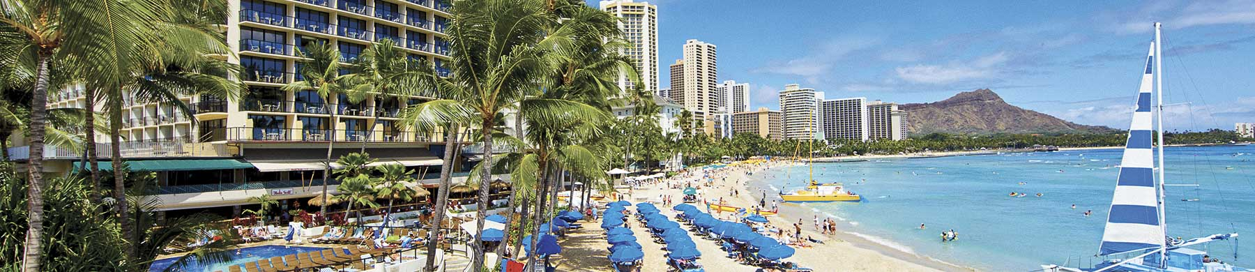 Nearby Locations from Outrigger Waikiki Beach Resort, Honolulu